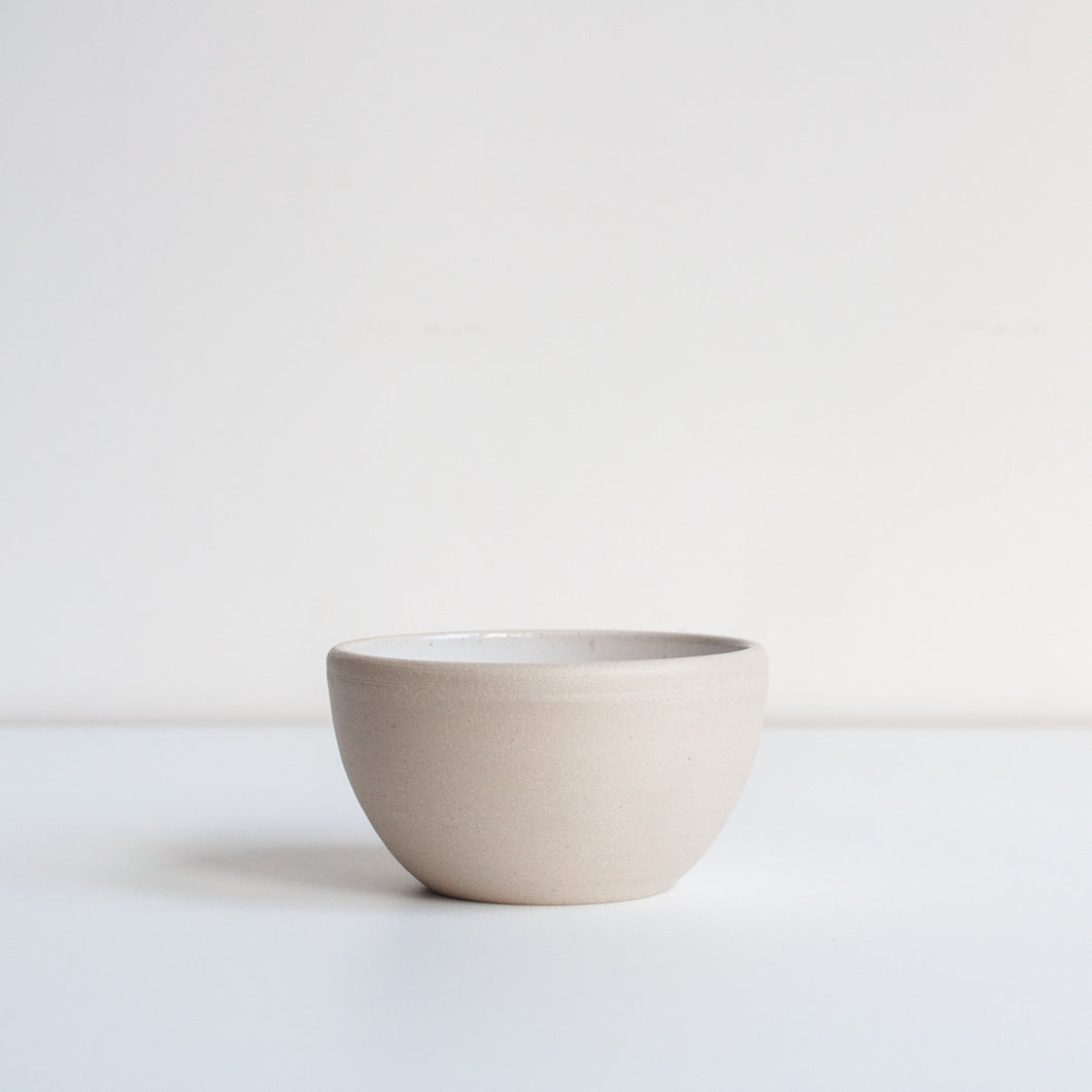EVERY DAY TAPAS BOWL / WHITE - DOR & TAN