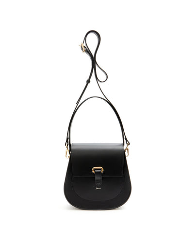 Saddle Shoulder Bag / Black - (ki:ts)