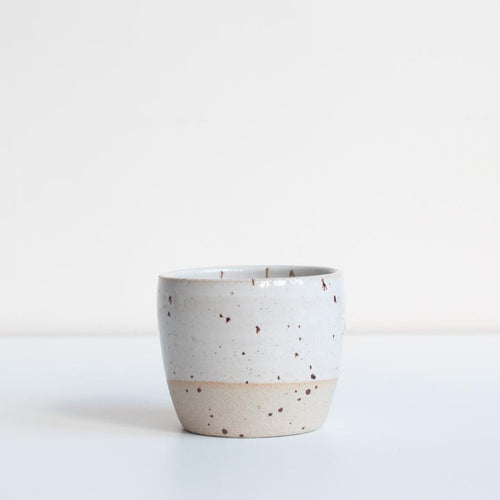 TEA BOWL / SPECKLED - DOR & TAN