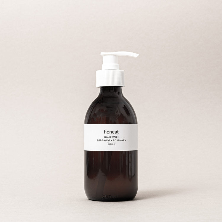 Bergamot + Rosemary Hand Wash - harvest