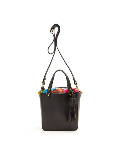 SQ Hand Bag with Pouch / Black - (ki:ts)