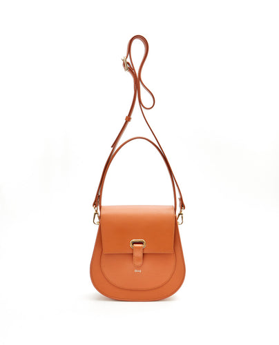 Saddle Shoulder Bag / Tan - (ki:ts)