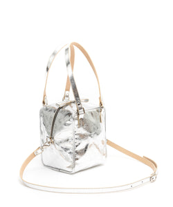 Cube Bag Soft - Tall / Foil Silver - (ki:ts)