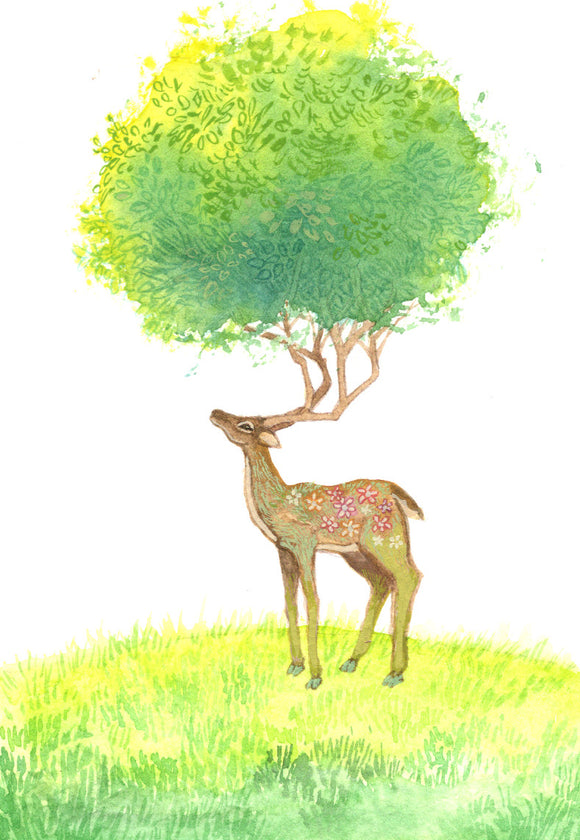 Deer Spirit - Art Print