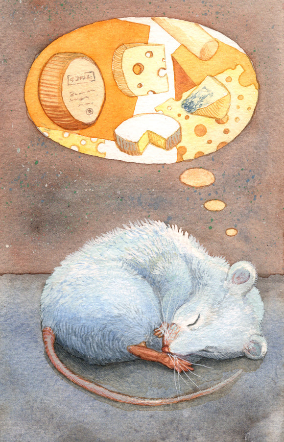 Mouse Dreaming - Art Print