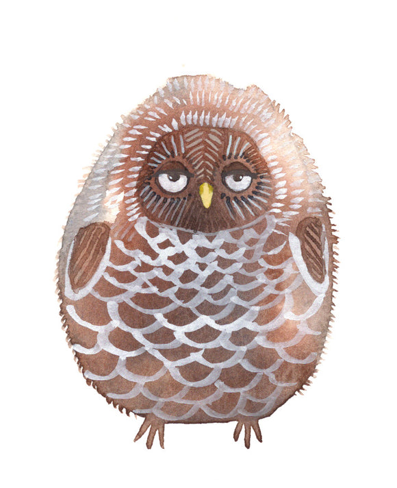 Baby owl nursery art, bird nursery art, baby room decor, nursery wall decor, baby girl nursery art, nursery wall art, woodland nursery decor, nursery themed, nursery art, baby boy room decor,  woodland animal nursery decor, pinecone owl