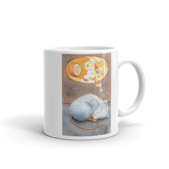 Mouse Mug - Dreaming of Cheese