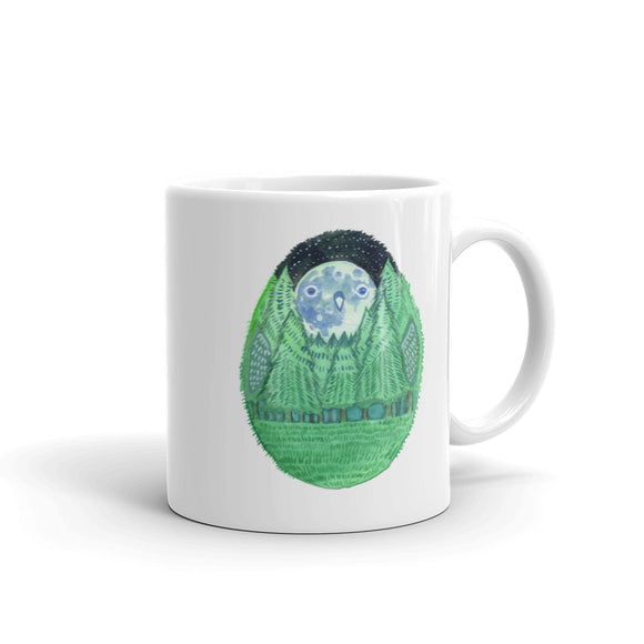 Forest Moon Owl Mug