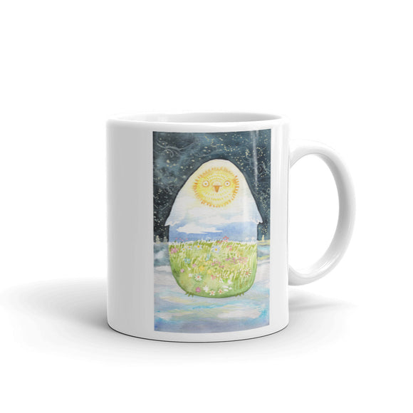 Seasons Owl Mug