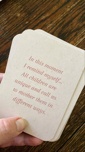 Mother Heart ~ uplifting affirmation cards for every Mother