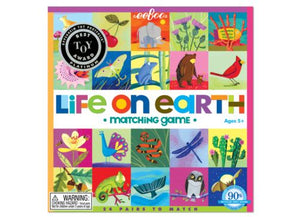 Matching + Memory Game ~ Life on Earth