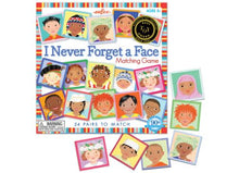 Load image into Gallery viewer, Matching + Memory Game ~ I Never Forget a Face