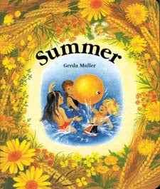 Summer by Gerda Muller (board book)
