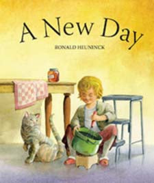 A New Day by Ronald Heuninck (board book)
