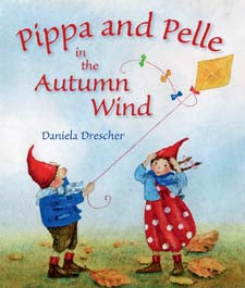 Pippa and Pelle in the Autumn Wind by Daniela Drescher (board book)