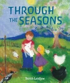 Through the Seasons by Sarah Laidlaw (board book)