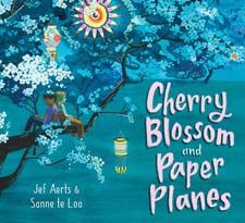 Cherry Blossom + Paper Planes by Jef Aerts