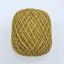 Load image into Gallery viewer, Gold/Silver 4ply crochet craft thread