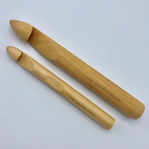 20mm bamboo crochet hook