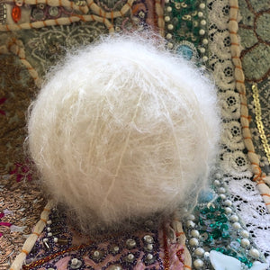 brushed mohair (smooth)