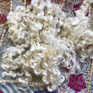 Undyed English Leicester Fleece