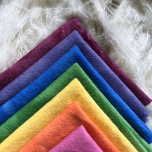 7 piece bundle ~ Autumn Rainbow colours ~ various sizes