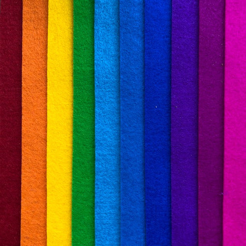 bright rainbow 10 pack