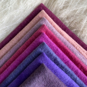 Pinks + Purples ~ various sizes ~ individual sheets