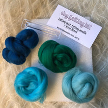 Load image into Gallery viewer, Needle Felting Kit ~ choose your colour palette