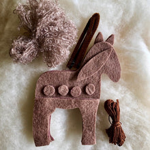 Load image into Gallery viewer, Horse Kit to make ~ Hand dyed pure wool felt