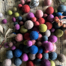 Load image into Gallery viewer, Autumn Tones Felt Balls