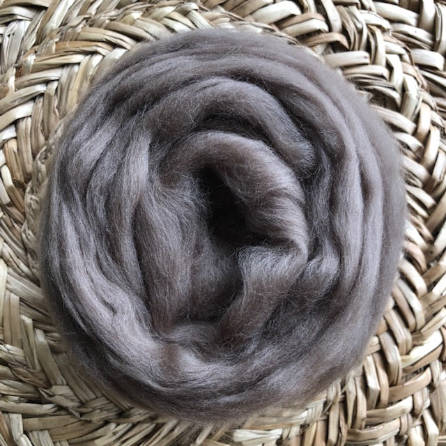 Ash fleece roving
