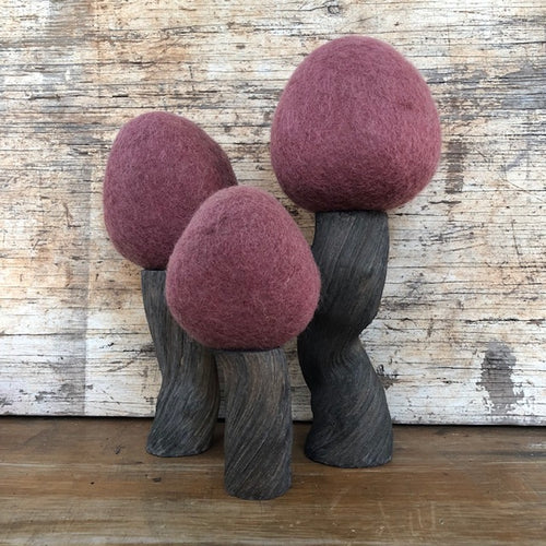 Wool felt EARTH RANGE Autumn trees ~ fair trade