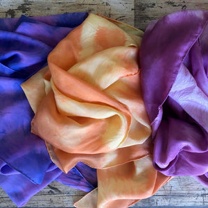 Individual two tones ~ Silk Playcloths