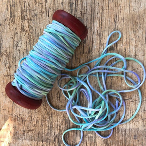 Hand Painted Mermaids Silk Cord