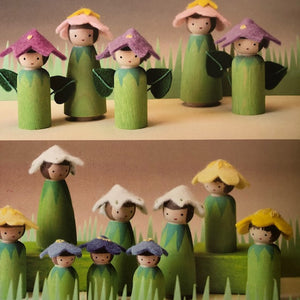 Making Peg Dolls by Margaret Bloom