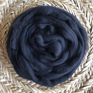 Black Fleece Roving