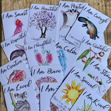 Load image into Gallery viewer, Positive Affirmation Cards for Kids ~ Australian theme