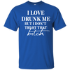 Love Drunk Me - Classic Tee - Royal Blue - Tattered Halo