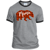 Mama Bear Gray Ringer Tee - Tattered Halo
