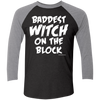 Baddest Witch Raglan Tee