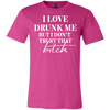 Love Drunk Me - Premium Tee - Pink - Tattered Halo