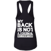 Say It To My Face Racerback Tank