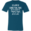 Love Drunk Me - Classic Tee - Teal - Tattered Halo