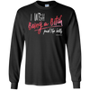 I Wish Being A Bitch Paid The Bills Long Sleeve Tee - Black - Tattered Halo
