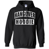 Hangover Hoodie - Black Pullover - Tattered Halo