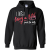 Bitch Paid The Bills Hoodie - Black - Tattered Halo