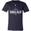 Tattered Halo - This is my IDGAF Face - Navy T-shirt