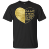 Heart of Gold Tee - Classic Black - Tattered Halo