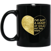 Heart Of Gold Mug - 11 oz - Tattered Halo